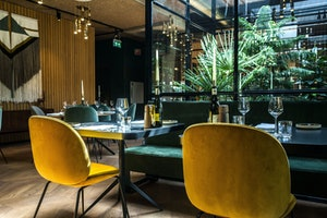 Hotel V Fizeaustraat The Lobby Restaurant 3