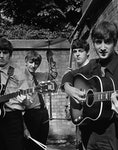 Terry O Neill The Beatles in a Backyard London 1963 Courtesy Eduard Planting Gallery scaled